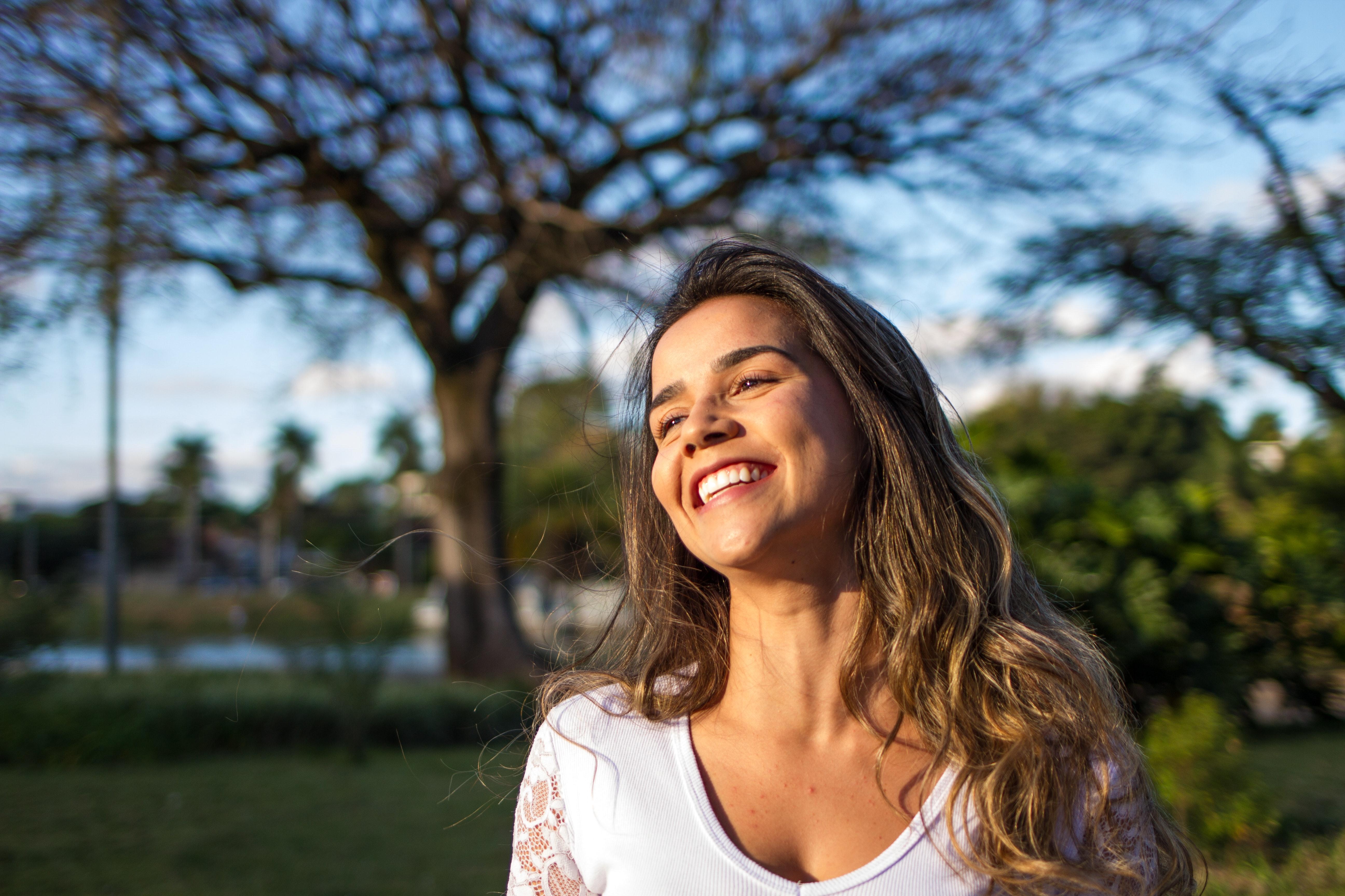 Strahlendes Lachen