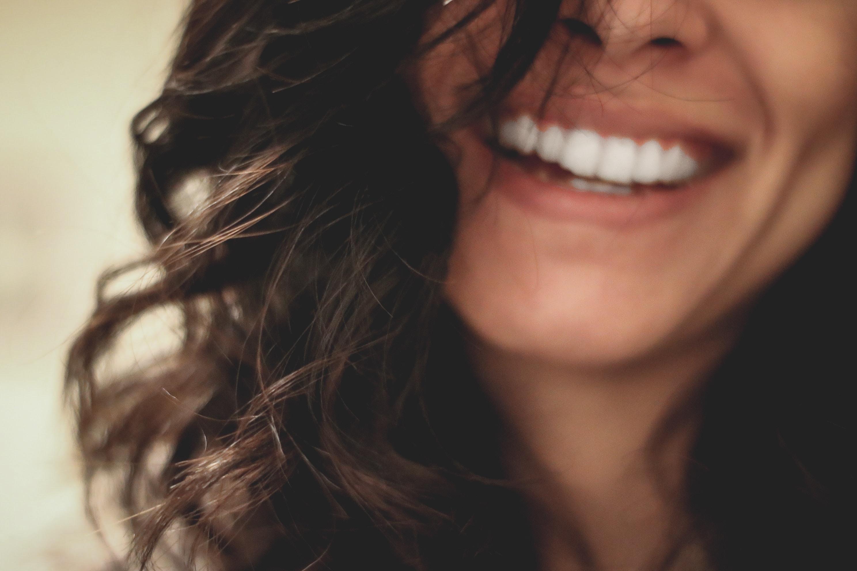 Strahlendes Lächeln